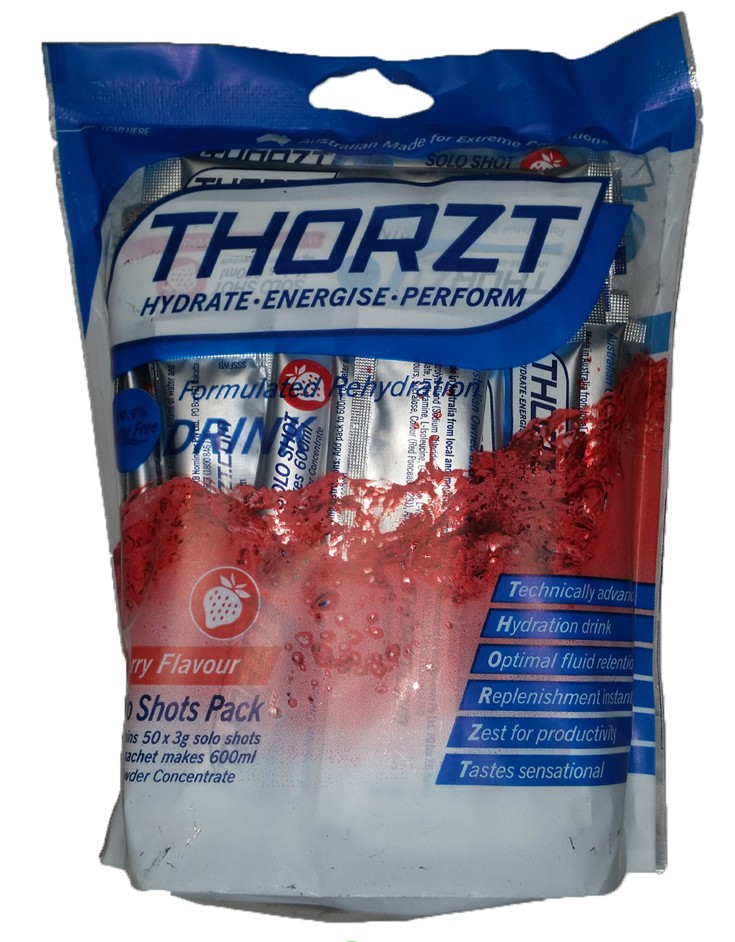 Thorzt sugar free wild berry 3g electrolyte drink 50 pack for Cocktail 3g