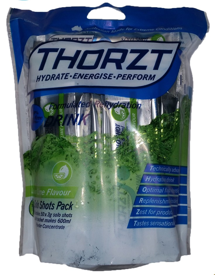 Thorzt sugar free lemon lime 3g electrolyte drink 50 pack for Cocktail 3g